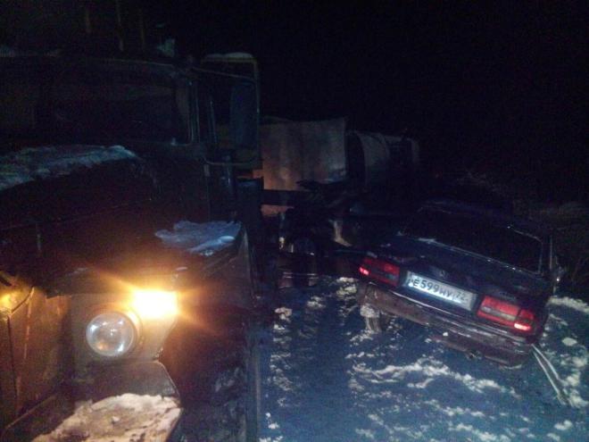34-летняя шофёр несправилась суправлением автомобилем ипогибла вДТП