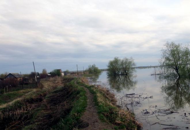 Вода идет наспад вовсех зонахЧС Тюменской области