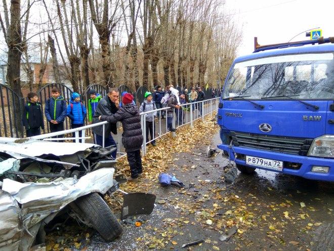 Нетрезвый шофёр БМВ устроил ДТП наХарьковской