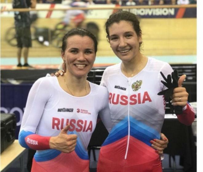Велогонщицы Климова иБадыкова выиграли серебро начемпионате Европы