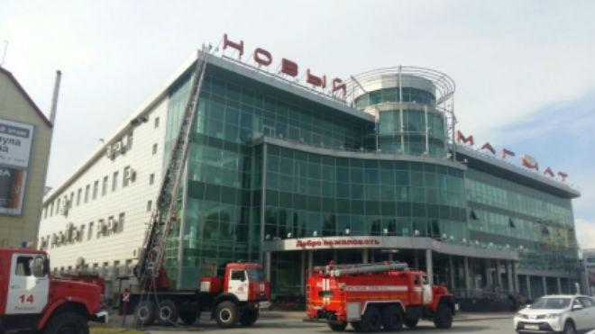 ВТюмени изторгового центра из-за пожара эвакуировали 260 гостей