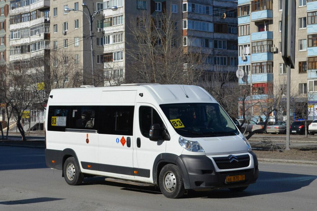 ВТюмени задержали нетрезвого водителя маршрутного такси