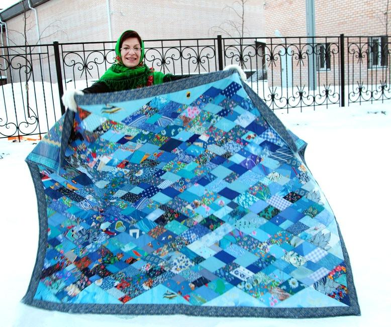 Олимпиаде лоскутное одеяло