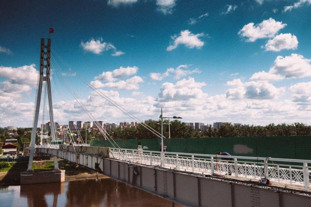 Улучшенный мост Влюбленных тюменцам покажут вДень города