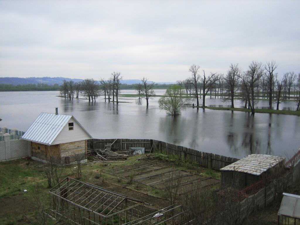 Фото паводок в самарской области в 2014 году 2