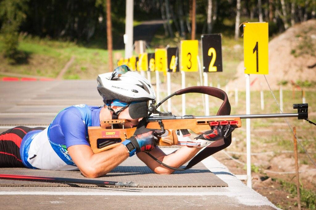 Биатлонисты изУдмуртии заняли 3-е место вэстафете налетнем чемпионате РФ