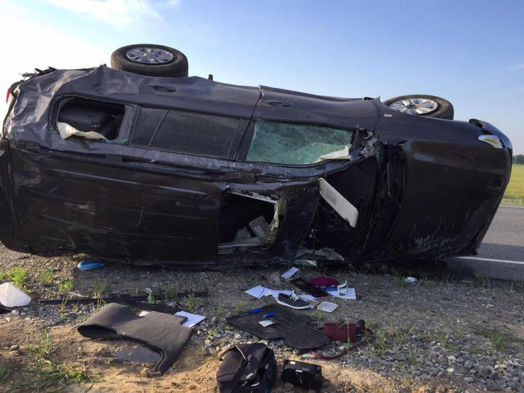 Выставка разбитых вДТП машин появится нафедеральной трассе вТюменской области