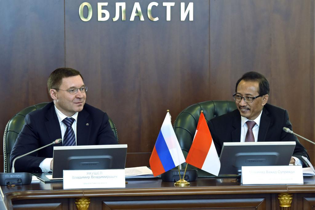 Губернатор Якушев получил особый подарок иприглашение вИндонезию