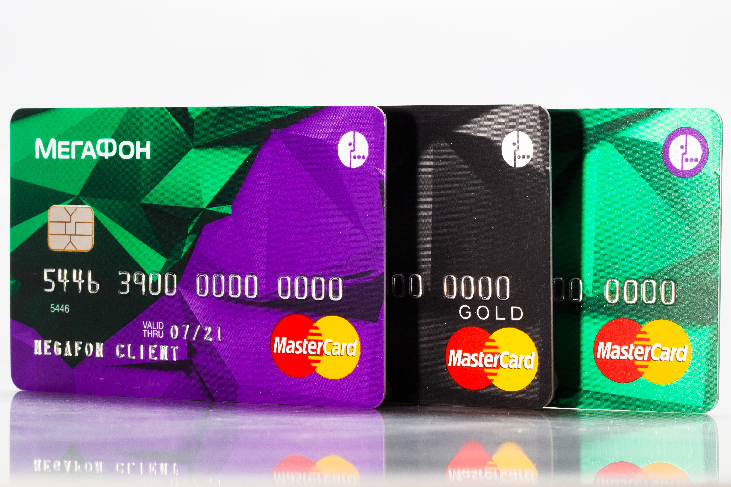 Мегафон начал выпуск банковских карт, привязанных кмобильному