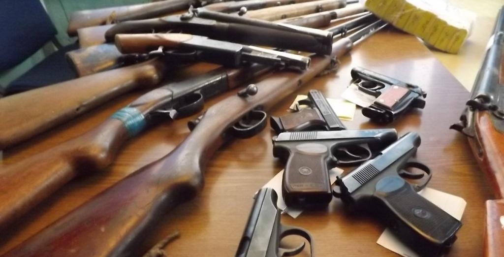 НаСумщине начался месячник добровольной сдачи оружия