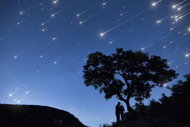 Граждане Камчатки смогут наблюдать метеорный поток Леониды