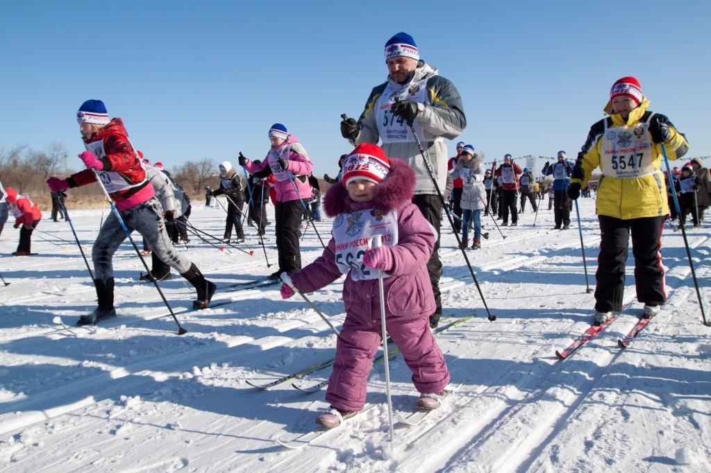 Регистрация участников «Лыжни России-2017» начинается вПодмосковье