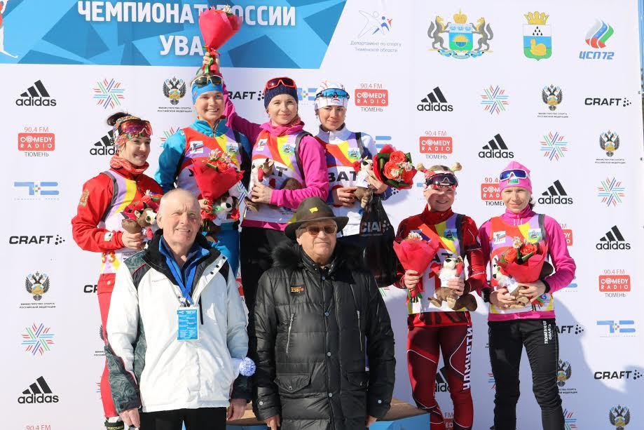 Ирина Услугина выиграла персональную гонку начемпионате РФ побиатлону вУвате