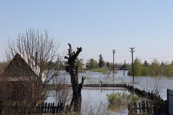 ВТюменской области продолжается борьба свесенним паводком