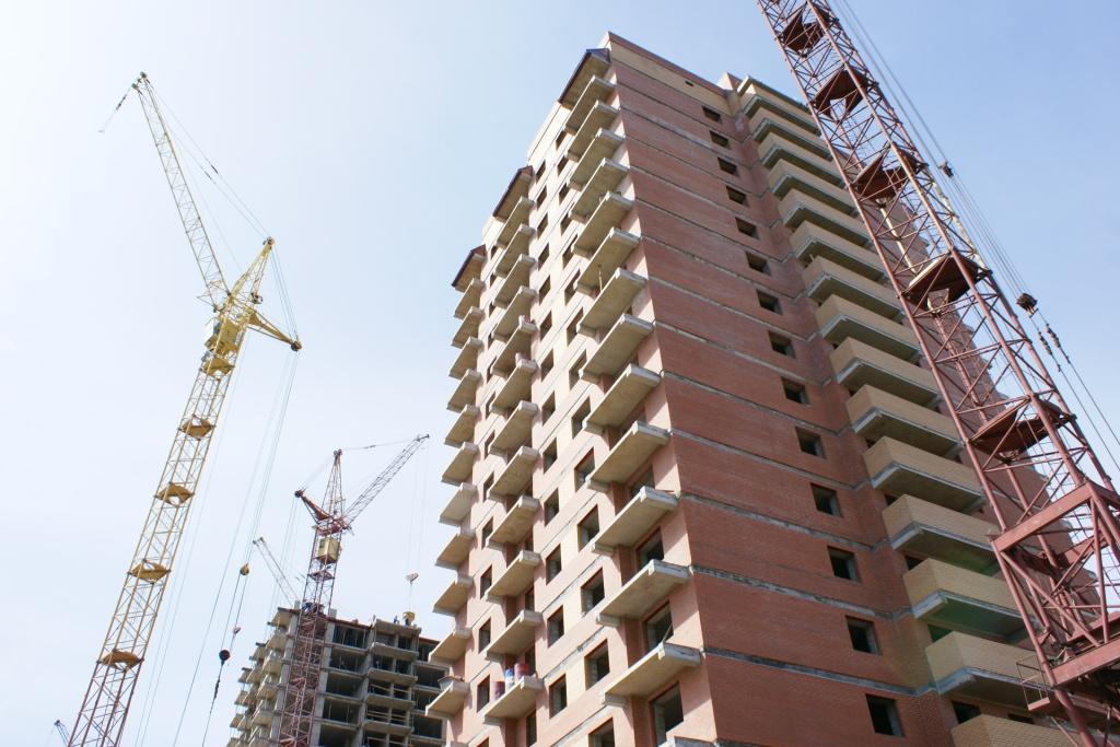 Практически 800 тыс. квадратных метров жилья ввели вобласти засемь месяцев