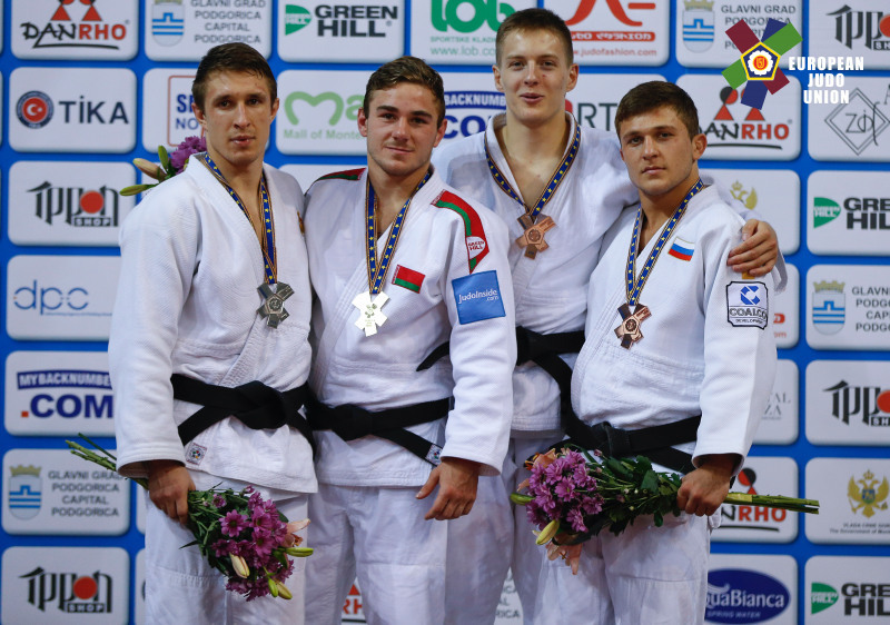 Ростовчанин стал призером главенства  Европы подзюдо