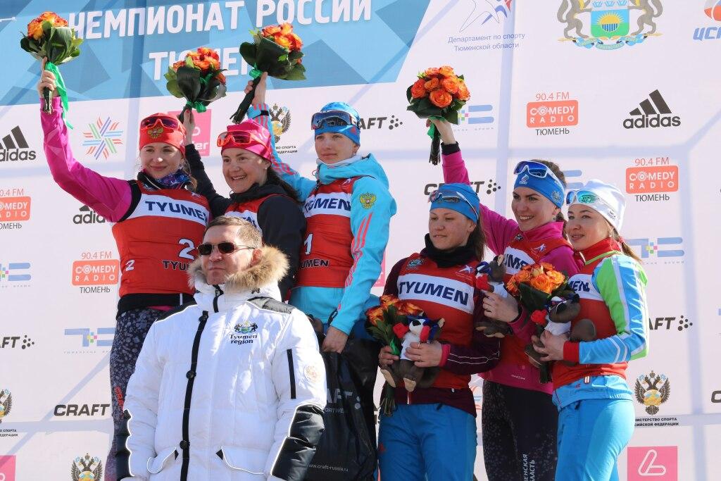 Тюменская биатлонистка Ирина Услугина завоевала серебро начемпионате РФ