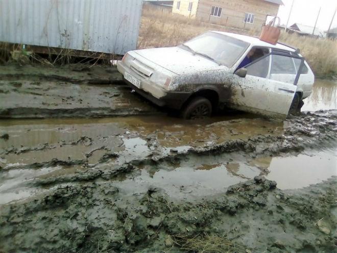 Активисты ОНФ провели рейд по«убитым» дорогам Майкопа
