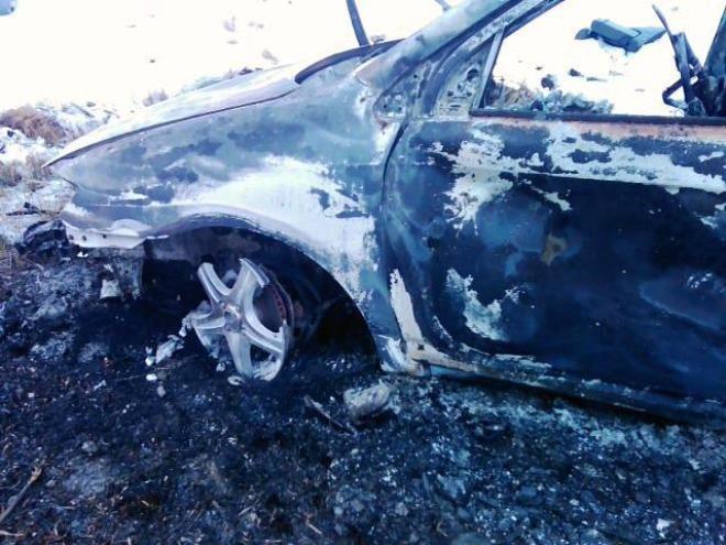 Натюменской трассе шофёр сгорел всалоне машины