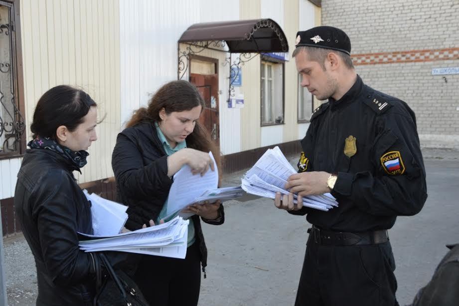На трассах Тольятти судебные приставы ловили должников