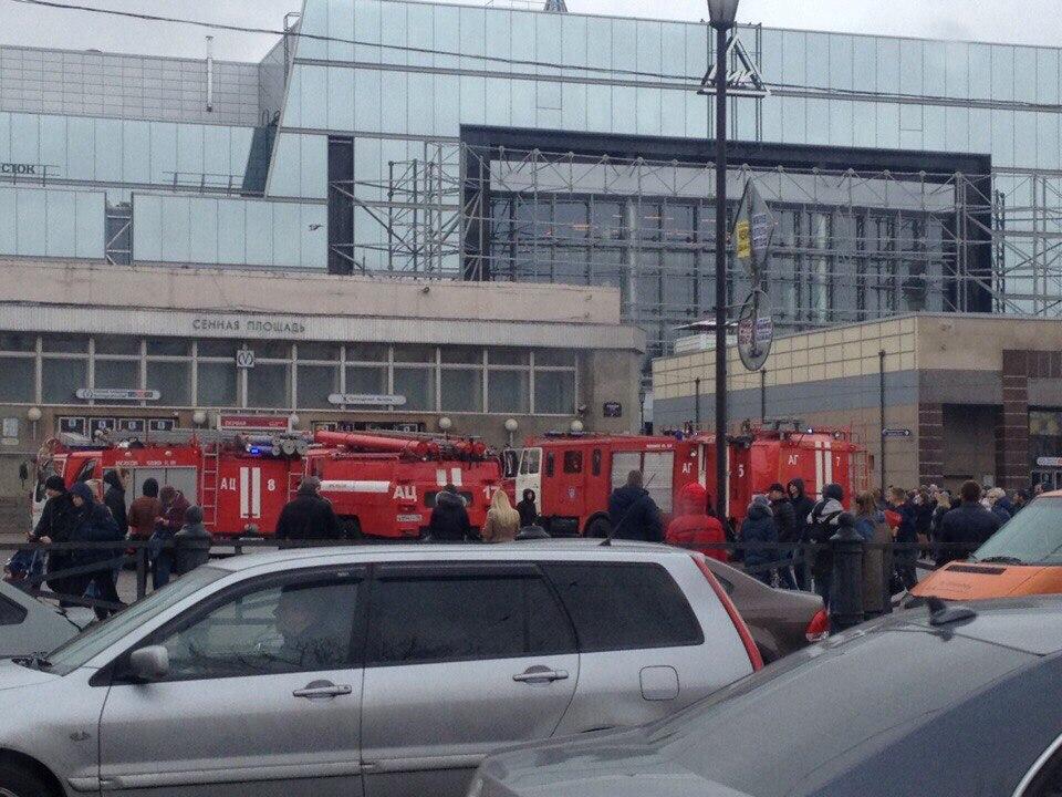 Втеракте в северной столице пострадала студентка изСургута
