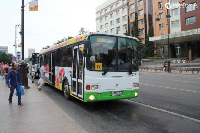 Общественный транспорт Тюмени