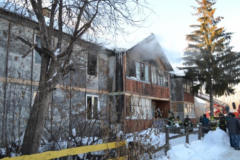 Впожаре вТюмени эвакуировали 15 человек