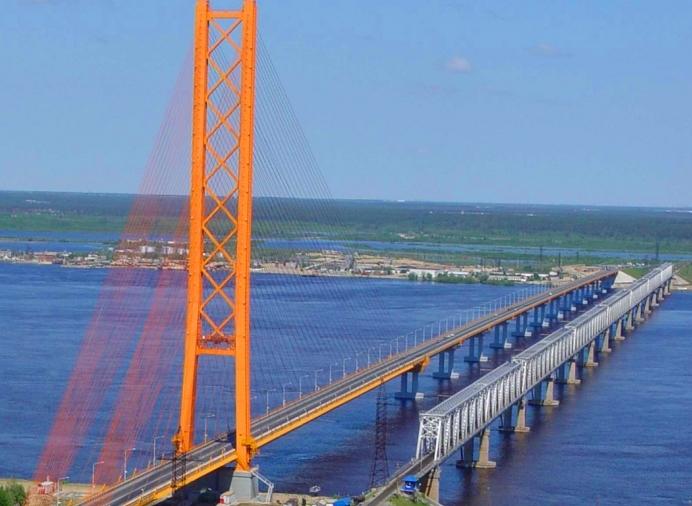 Вантовый мост в уренгое фото 111-63