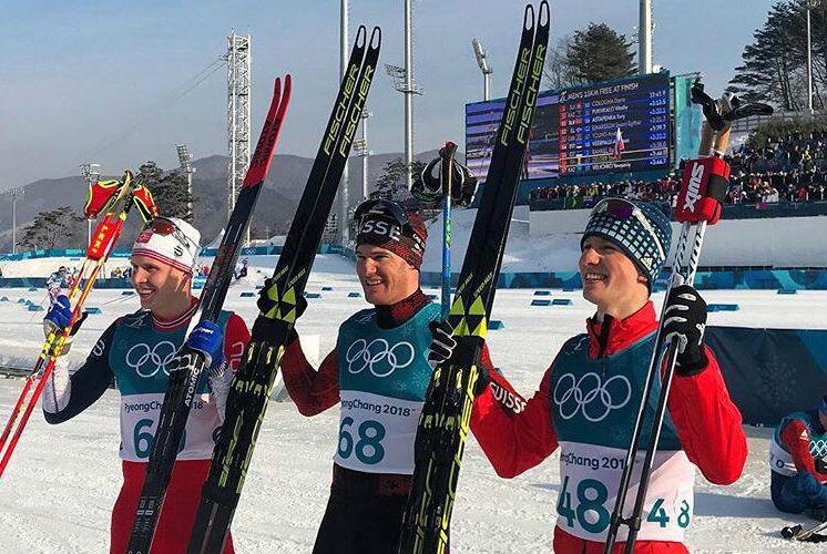 Российский лыжник Спицов завоевал бронзу ОИ-2018 в гонке на 15 километров