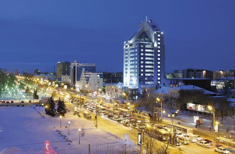 Города России: Тюмень